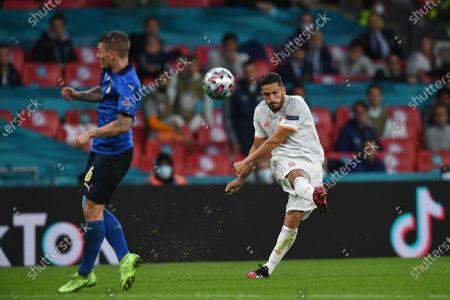 "Koke Jorge Resurreccion Merodio (Spain)                      during the Uefa  ""European Championship 2020 Semifinals  match between Italy  5-3 Spain  at Wembley Stadium in London, England."
