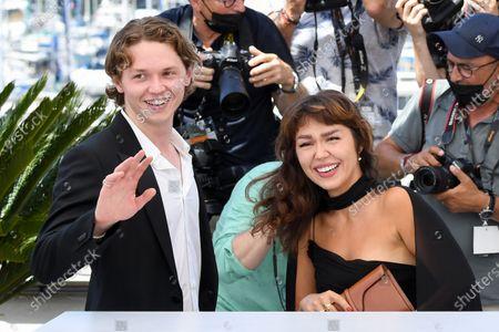Stock Image of Jack Kilmer and Mercedes Kilmer