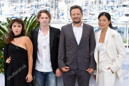 Mercedes Kilmer, Jack Kilmer, Leo Scott and Ting Poo