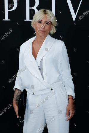 Stock Picture of Malika Ayane attending the Giorgio Armani Private fashion show, Fall-Winter 2021/22 as part of the Paris Fashion Week, in Paris on July 06 2021.