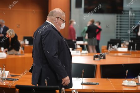 German Economy Minister Peter Altmaier attends a Weekly meeting of the German Federal Cabinet, Berlin, Germany, 07 July 2021.