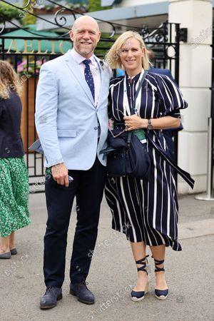 Stock Image of Mike Tindall and Zara Tindall