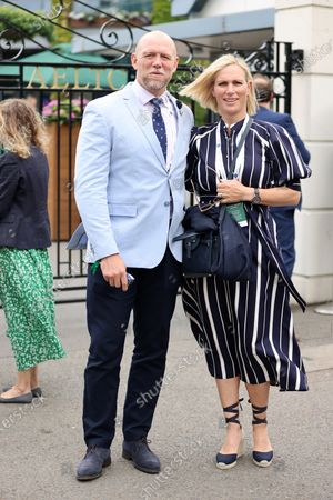 Stock Picture of Mike Tindall and Zara Tindall