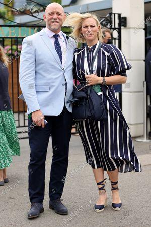 Mike Tindall and Zara Tindall
