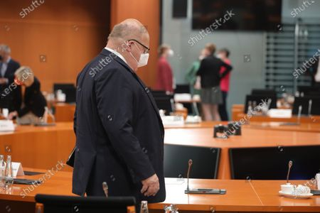 Minister of Economics Peter Altmaier before the cabinet meeting in the Berlin Chancellery