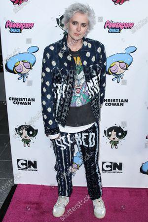 Editorial image of 2020 Christian Cowan x Powerpuff Girls Runway Show Season II - Arrivals, Los Angeles, USA - 08 Mar 2020