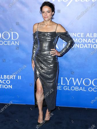 Actress Michelle Rodriguez