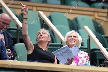 Stock Image of Mary Berry in the Royal Box