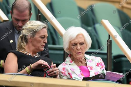 Mary Berry in the Royal Box
