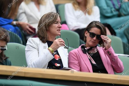 Editorial image of Wimbledon Tennis Championships, Day 8, The All England Lawn Tennis and Croquet Club, London, UK - 06 Jul 2021