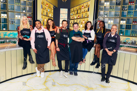 Denise Van Outen, Naughty Boy, Catherine Tyldesley, Harry Judd, Johnny Vegas, Shirley Ballas, Aj Odudu and Griff Rhys Jones.