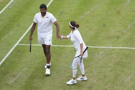 Editorial image of Wimbledon Tennis, London, United Kingdom - 07 Jul 2021