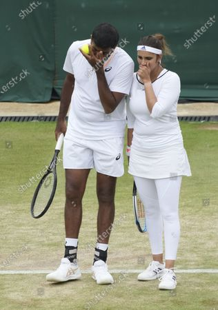 Editorial picture of Wimbledon Tennis, London, United Kingdom - 07 Jul 2021