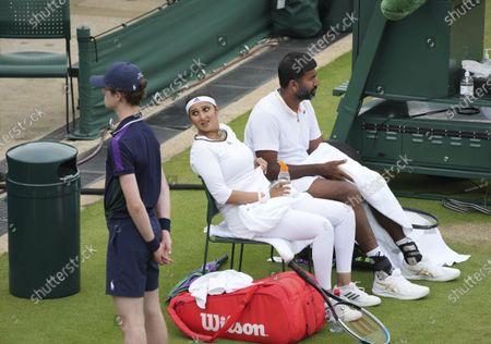 Editorial photo of Wimbledon Tennis, London, United Kingdom - 07 Jul 2021