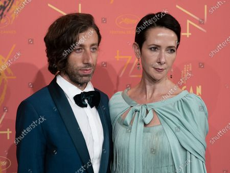 Simon Helberg and Wife Jocelyn Towne