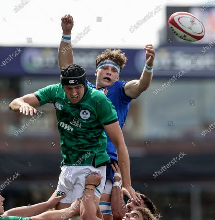 Editorial image of 2021 Under-20 Six Nations Championship Round 4, BT Sport Cardiff Arms Park, Wales - 07 Jul 2021