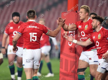 Editorial picture of Cell C Sharks v British and Irish Lions, Emirates Park Stadium, Johannesburg, South Africa - 07 Jul 2021