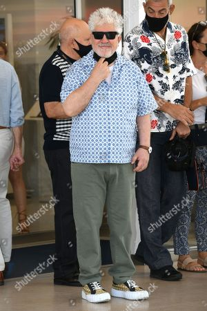 Editorial image of Pedro Almodovar out and about, 74th Cannes Film Festival, France - 07 Jul 2021