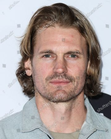 Josh Pence arrives at the Los Angeles Art Show 2020 Opening Night Gala held at the Los Angeles Convention Center on February 5, 2020 in Los Angeles, California, United States.