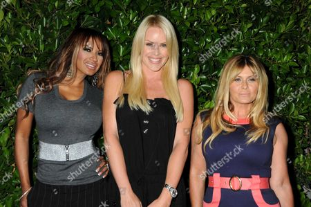 Editorial image of Baywatch Reunion Dinner held at Michael Mina's XIV Restaurant, West Hollywood, America - 19 Aug 2010
