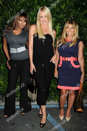 Stock Picture of Traci Bingham, Gena Lee Nolin and Nicole Eggert