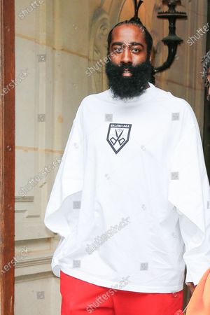 Stock Image of James Harden, Lil Baby