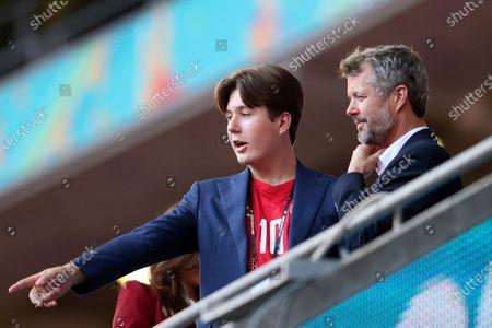 Editorial photo of England Denmark Euro 2020 Soccer, London, United Kingdom - 07 Jul 2021