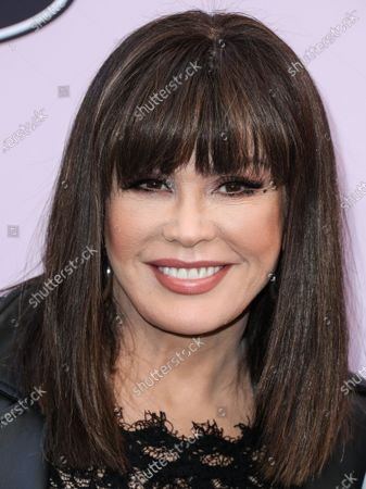 Stock Picture of Marie Osmond arrives at the 2020 13th Annual ESSENCE Black Women in Hollywood Awards Luncheon held at the Beverly Wilshire, A Four Seasons Hotel on February 6, 2020 in Beverly Hills, Los Angeles, California, United States.