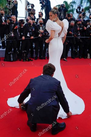 Editorial image of 'Everything Went Fine' premiere, 74th Cannes Film Festival, France - 07 Jul 2021