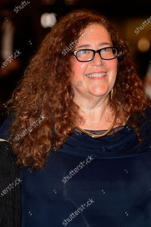 Julie Goldman arrives for the screening of 'The Velvet Underground' during the 74th annual Cannes Film Festival, in Cannes, France, 07 July 2021. The documentary film is presented Out of Competition at the festival which runs from 06 to 17 July.
