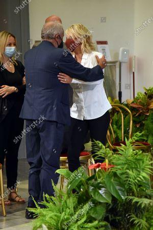 Editorial photo of Funeral of Raffaella Carra, Campidoglio, Rome, Italy - 07 Jul 2021