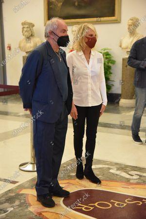 Editorial image of Funeral of Raffaella Carra, Campidoglio, Rome, Italy - 07 Jul 2021