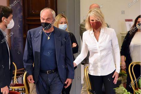 Maria De Filippi and Sergio Iapino