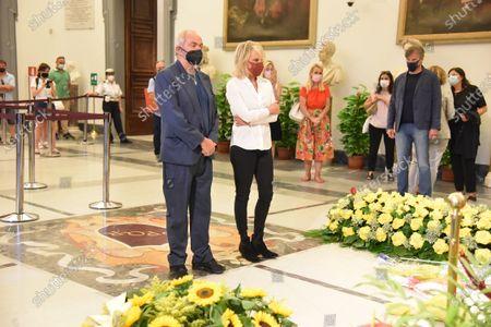 Editorial picture of Funeral of Raffaella Carra, Campidoglio, Rome, Italy - 07 Jul 2021