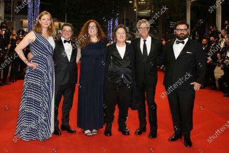 Stock Image of Christopher Clements, Julie Goldman, Producer Christine Vachon, director Todd Haynes, Adam Kurnitz and Carolyn Hepburn