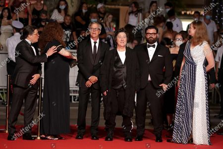 Christopher Clements, Julie Goldman, Producer Christine Vachon, director Todd Haynes, Adam Kurnitz and Carolyn Hepburn