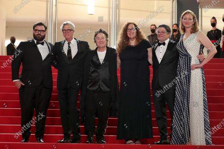 Adam Kurnitz, director Todd Haynes, producer Christine Vachon, Julie Goldman, Christopher Clements and Carolyn Hepburn