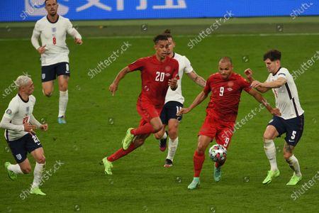 Editorial photo of Soccer: UEFA European Championship 2020: England  2-1 Denmark, London, England - 07 Jul 2021
