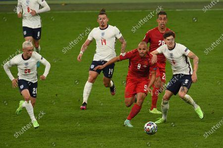 Editorial image of Soccer: UEFA European Championship 2020: England  2-1 Denmark, London, England - 07 Jul 2021