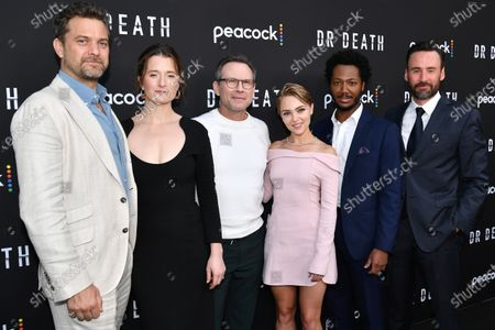 Joshua Jackson, Grace Gummer, Christian Slater, AnnaSophia Robb, Hubert Point-Du Jour and Patrick Macmanus