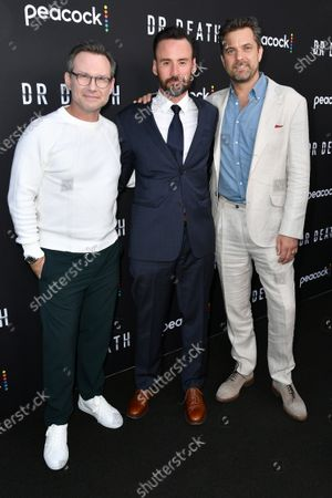 Christian Slater, Patrick Macmanus and Joshua Jackson