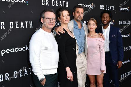 Christian Slater, Grace Gummer, Joshua Jackson, AnnaSophia Robb and Hubert Point-Du Jour