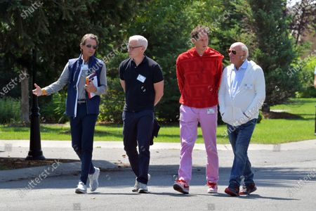 Lorenzo Mendoza, Anderson Cooper, John Elkann, Barry Diller