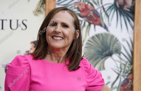 """Stock Image of Molly Shannon, a cast member in """"The White Lotus,"""" poses at the premiere of the HBO limited series, at the Bel Air Bay Club in Los Angeles"""