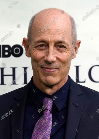 """Jon Gries, a cast member in """"The White Lotus,"""" poses at the premiere of the HBO limited series, at the Bel Air Bay Club in Los Angeles"""