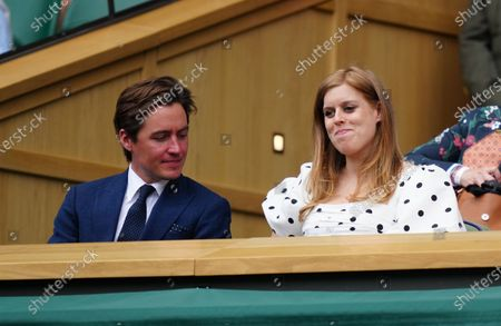 Editorial picture of Wimbledon Tennis Championships, Day 10, The All England Lawn Tennis and Croquet Club, London, UK - 08 Jul 2021