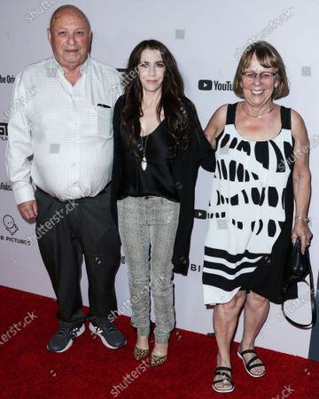 Bruce Dale, Pattie Mallette and Diane Dale arrive at the Los Angeles Premiere Of YouTube Originals' 'Justin Bieber: Seasons' held at the Regency Bruin Theatre on January 27, 2020 in Westwood, Los Angeles, California, United States.
