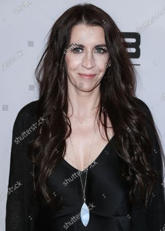 Pattie Mallette arrives at the Los Angeles Premiere Of YouTube Originals' 'Justin Bieber: Seasons' held at the Regency Bruin Theatre on January 27, 2020 in Westwood, Los Angeles, California, United States.