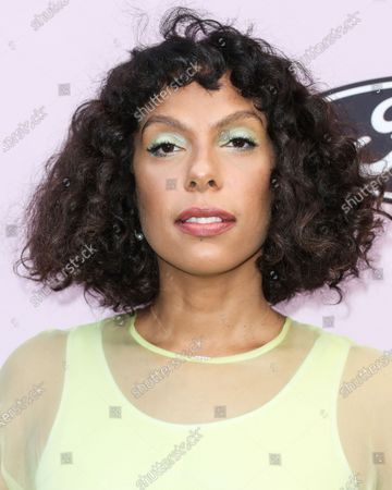 Melina Matsoukas arrives at the 2020 13th Annual ESSENCE Black Women in Hollywood Awards Luncheon held at the Beverly Wilshire, A Four Seasons Hotel on February 6, 2020 in Beverly Hills, Los Angeles, California, United States.
