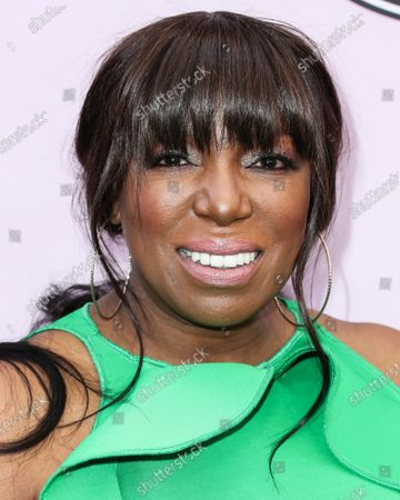 Stock Photo of Mikki Taylor arrives at the 2020 13th Annual ESSENCE Black Women in Hollywood Awards Luncheon held at the Beverly Wilshire, A Four Seasons Hotel on February 6, 2020 in Beverly Hills, Los Angeles, California, United States.